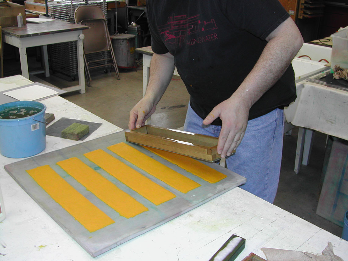 Papermaking Alex Mandli Saggar Fired And Pit Fired Pottery