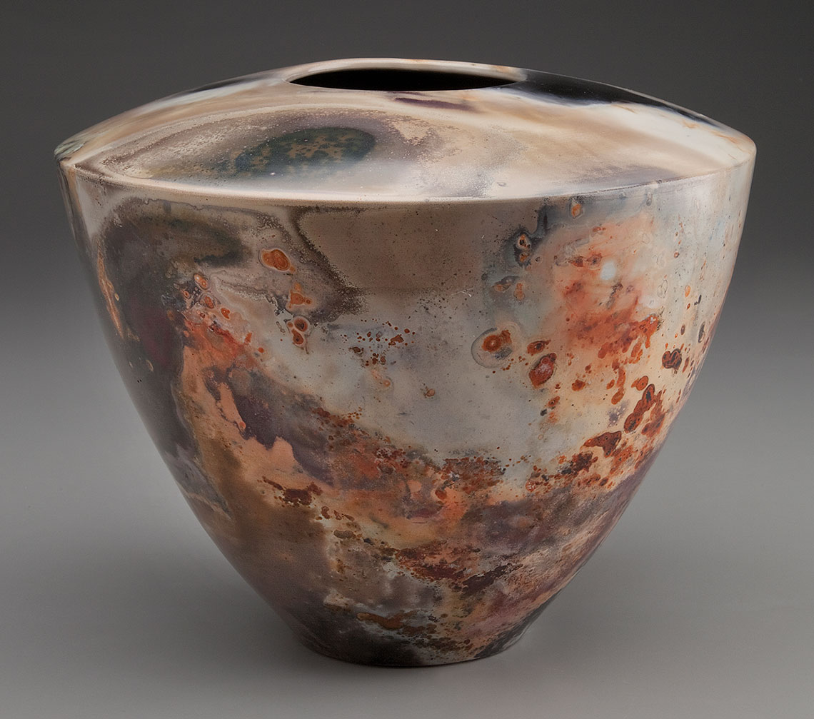 Fire Clays Fired : Pit fired pottery alex mandli saggar and
