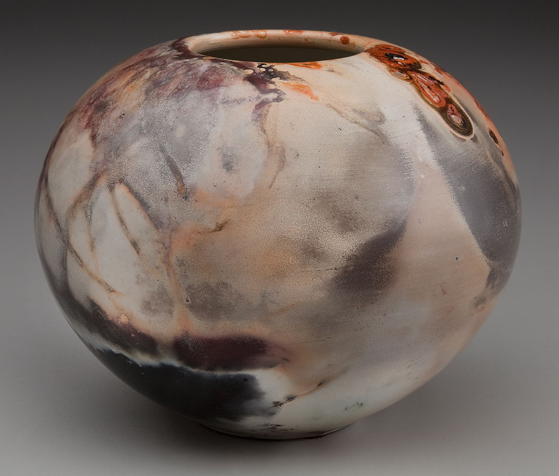 Pit Fired Pottery Alex Mandli Saggar Fired And Pit