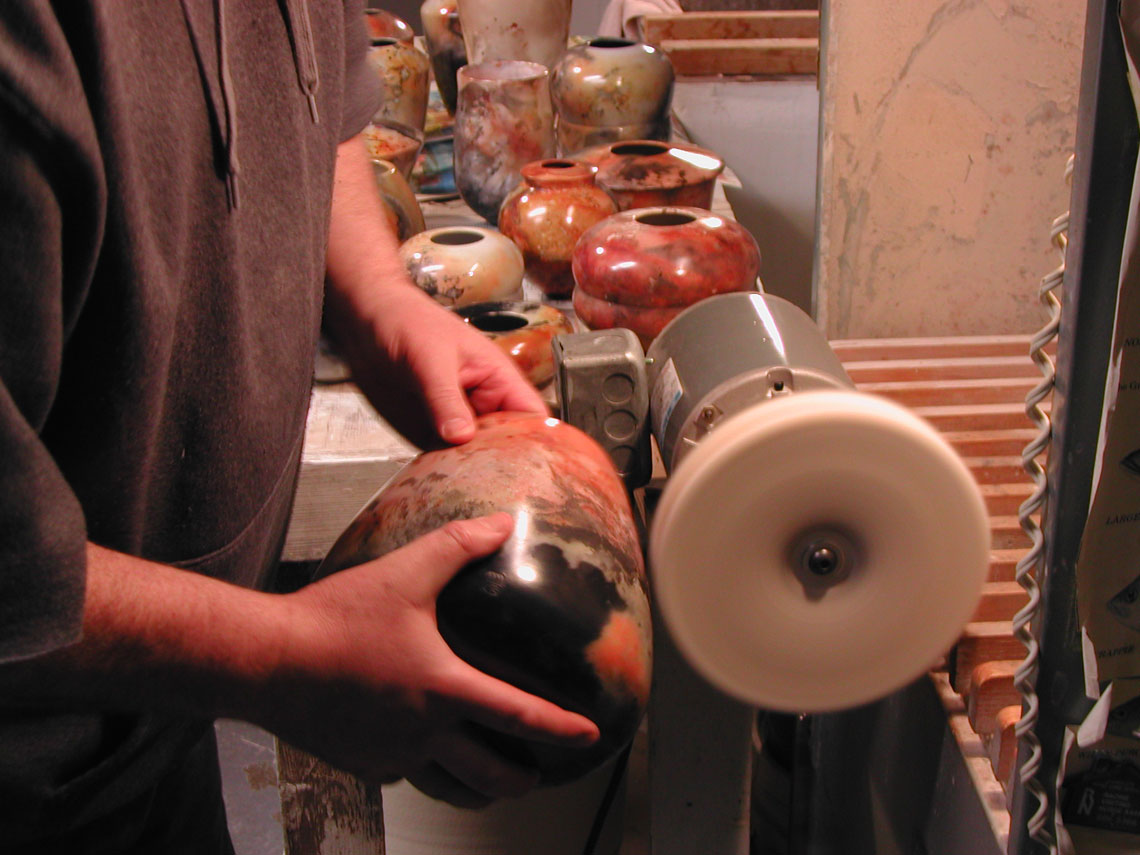 Process Of Creating Saggar Pottery Alex Mandli Saggar