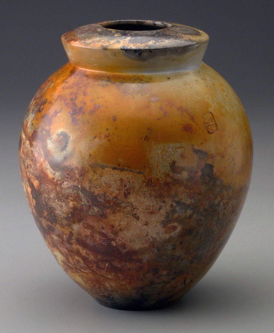 saggar fired pottery